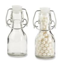 Kate Aspen Set of 12 Mini Glass Favor Bottle with Swing Top - $17.95