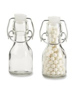 Kate Aspen Set of 12 Mini Glass Favor Bottle with Swing Top - $17.95