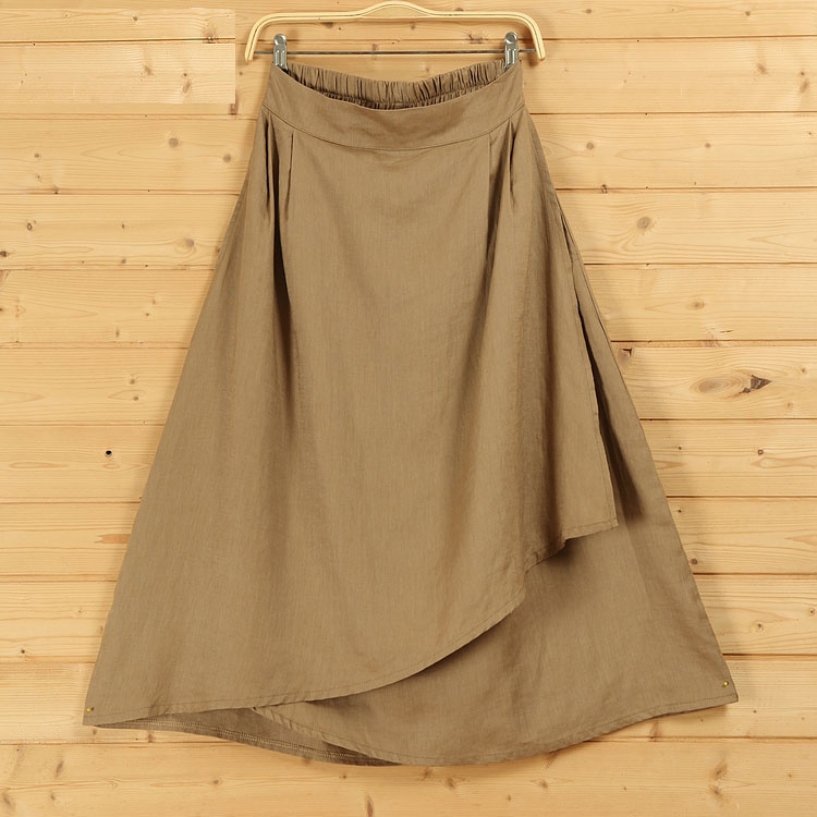 Wrap skirt irregular boho 3