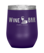 Wine Bar Atlanta Vacuum Insulated Stainless Steel Stemless Wine Tumbler ... - $29.99