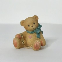 "1997 P. Hillman Enesco Teddy Bear Figure 1.75"" X 1.5"" X 1.25"" - $13.86"