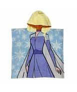 Disney Store Frozen Elsa Anna Reversible Beach Towel 2021 - $49.95