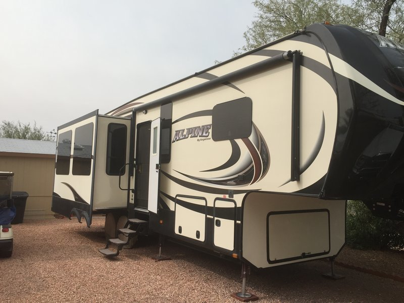 2015 Keystone Alpine 3010RE FOR SALE IN Congress, AZ 85332