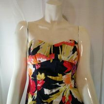 Forever 21 Womens Multicolored Strapless Floral Mini Dress Small image 4