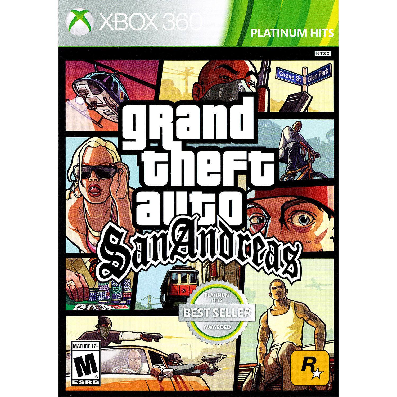 Grand Theft Auto: San Andreas Xbox 360 [Brand New]