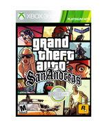 Grand Theft Auto: San Andreas Xbox 360 [Brand New]  - $29.68