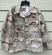 GENUINE USGI COAT DESERT CAMOUFLAGE PATTERN COMBAT JACKET - MEDIUM REGUL... - $9.90