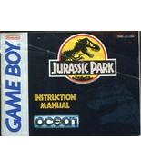 1993 Nintendo Game Boy Jurassic Park - Manual Only! - $2.96