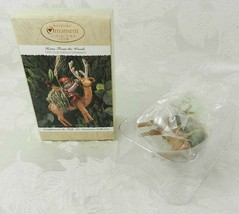 Hallmark Christmas Ornament - Home From the Woods 1995 Club Edition Rein... - $14.84