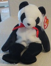 Ty Beanie Baby Fortune Panda Bear 5th Generation Hang Tag 1998 NEW - $7.91