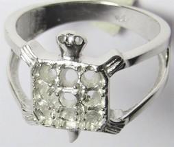 925 Sterling Silver Semi Mount Ring Setting Animal Turtle Shape 2.5 mm R... - $11.64+