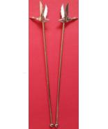 "Grey Goose 6-3/4"" Metal Swizzle Stick, New  - $3.95"