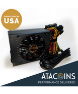 110v-240v 1600W 6GPU Graphics Card- ining Power Supply For Eth Rig Ether... - $197.99