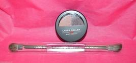 Laura Geller Baked Impressions eye shadow duo Fine wines Pink /Burgundy ... - $7.49