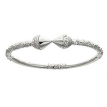 Spear .925 Sterling Silver West Indian Bangles (ONE BANGLE) (MADE IN USA) - $110.00