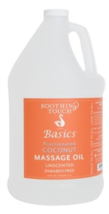 Soothing Touch Basics Fractionated Coconut Massage Oil, Unscented, 128 O... - $66.06