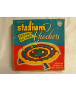 ORIGINAL Vintage 1952 Schaper Stadium Checkers Board Game - $46.39