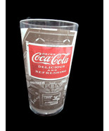 Coca-Cola Coke Noir Plastic 19 Oz Tumbler Black and White Photos  - Set ... - $13.37