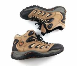 Merrell Reflex Mid Gore-Tex Smoke Tan Waterproof Men's 12 Hiking Trail B... - $79.02