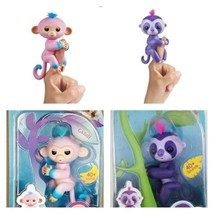 Fingerlings - Interactive Baby Monkey - Candi and Sloth - Marge By WowWee - $53.35