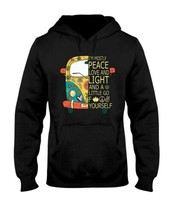 Peace Car I'm Mostly Peace Love And Light Hoodie Unisex Made in USA - $28.70+