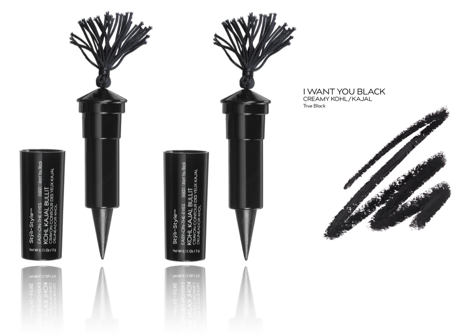 (2-Pack) Styli-Style Easy-On-The-Eyes Kohl Kajal Bullit Eyeliner I Want You Blac - $16.99