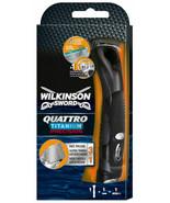 Wilkinson Sword Quattro Titanium Precision Mens Electric Shaving Razor New - $29.63
