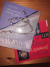 Two Jewelry Making and Design Hardcover Books - $19.95