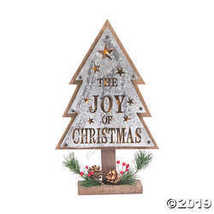 Light-Up The Joy of Christmas Tree Sign - $24.99