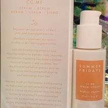 New In Box Summer Fridays CC Me Serum 1oz (30mL) Potent Vitamin C Brightening image 4