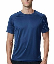 Sub Sports Tech Stay Cool Mens Short Sleeve Top Blue Gym Running Sport T... - $13.09