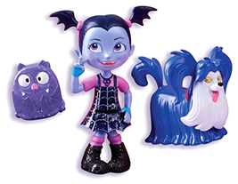 Disney Jr Vampirina Vampirina And Wolfie Dolls Figures - $10.57