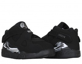 "AIR JORDAN 8 RETRO ""CHROME"" TODDLERS US  SIZE 5C STYLE# 305360-003 - $69.25"