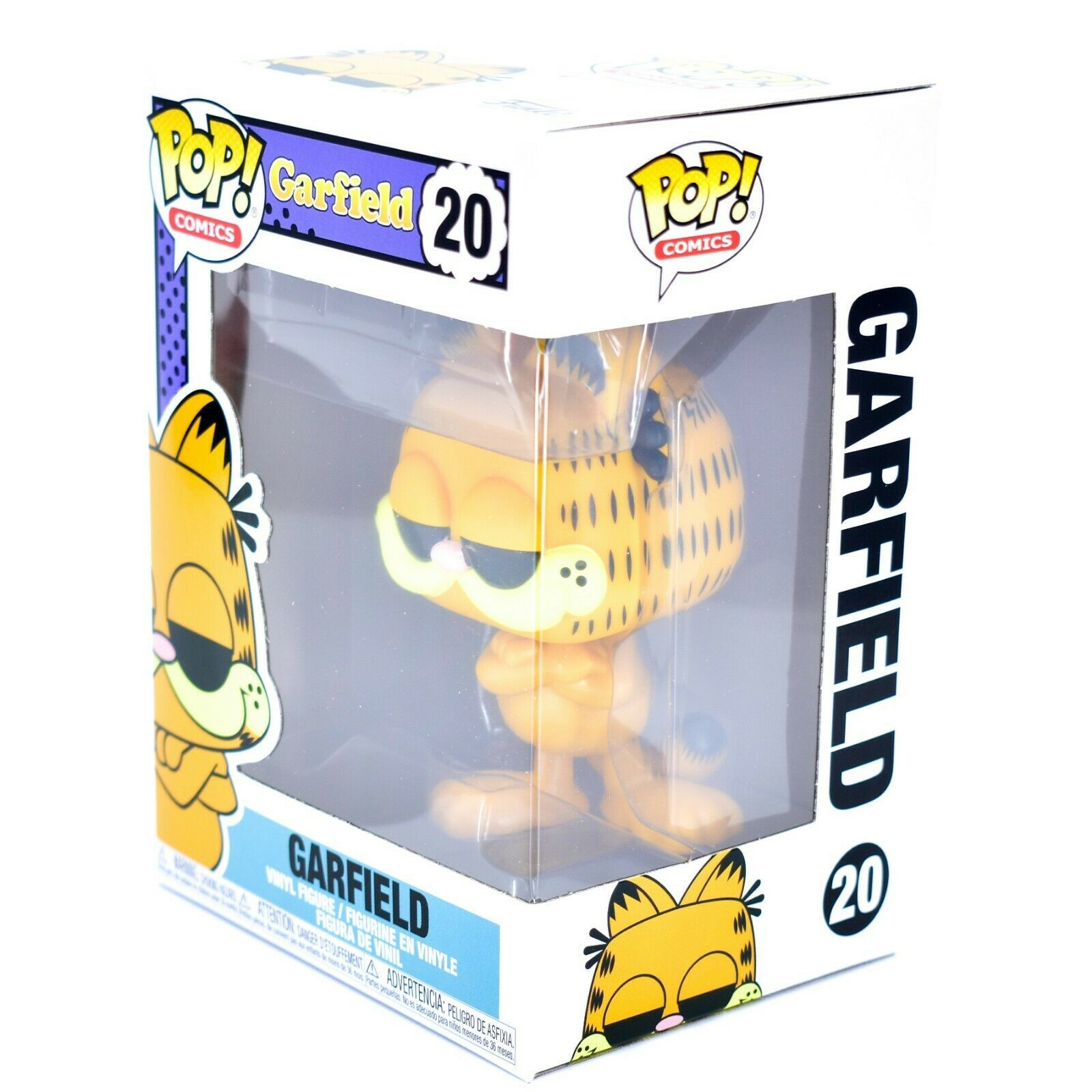 Funko Pop Comics Garfield 20 Vinyl Action Figure