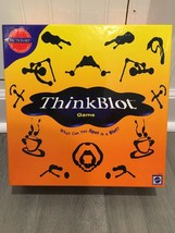 Think Blot Game Board Game by Mattel 2000 - $5.00