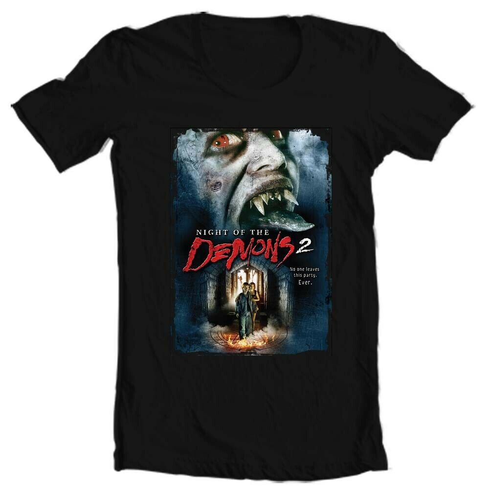 Night of the Demons 2 Tee Shirt retro vintage 90s horror movie graphic t-shirt
