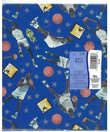 1993 SHAQUILLE O'NEAL SHAQ Wrapping Paper NBA Basketball GIFT WRAP Vtg 9... - $19.31