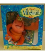Disney 0786842016 Little Mermaid Sebastian and Book - $42.77