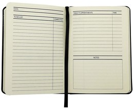 Things to Do Today Notebook Diary Journal by OaklineNotes (11 x 5 cm) - $16.50