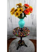 Handmade Small Colorful mosaic table - £230.18 GBP