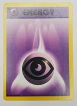Pokemon Base Set 1999 Psychic Energy Card LP 101/102 TCG Trading Card Game - $0.99