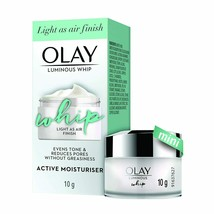 Olay Ultra Lightweight Moisturiser: Luminous Whip Mini Day Cream 10g Fre... - $14.84