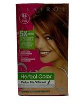Clairol Herbal Essence Hair Color #54 Amber Shimmer Light Golden Brown E1 - $19.42