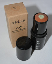 Stila CC Color Correcting Stick SPF 20 Full Size Green Core Reduces Red ... - $13.35