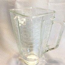 Oster Blender Glass Jar Replacement 5 Cup Square Top 93 Made in Mexico - $14.99