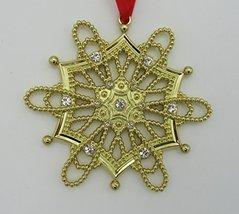 Lenox Ornament Golden Hexagon Snowflake - Colors of Gold 865788 - $10.84