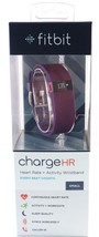 Authentic Fitbit Charge HR Activity Heart Rate Wristband - Small - Plum - $69.25