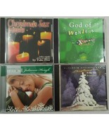 Lot of 4 Preowned Christmas CDs Manheim Steamroller Christmas Sax Gof of... - $20.26