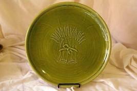"Franciscan Wheat Winter Green 13 1/4"" Round Platter/Chop Plate - $33.26"