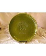 "Franciscan Wheat Winter Green 13 1/4"" Round Platter/Chop Plate - $30.23"